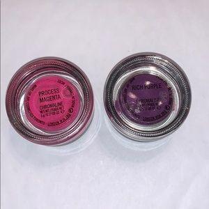 pink and purple mac chromaline
